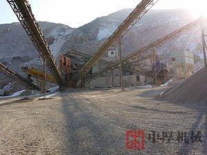河南卫辉时产100吨石料机制砂生产线