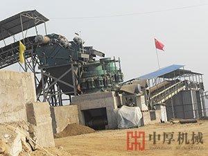 辽宁建昌铁矿圆锥破碎机生产现场