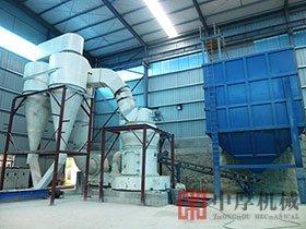 湖北鄂州时产10吨石灰石雷蒙磨粉生产线