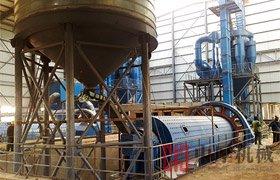 内蒙球磨机石灰石磨粉生产线