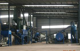 河南登封中国矿物质土壤改良生产线