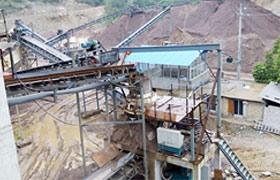 贵州时产100-150吨花岗岩石料制砂生产线