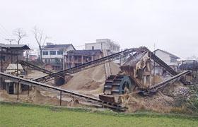 广西鹅卵石制砂生产线