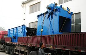 发往云南丘北时产200吨砂石骨料生产线全套设备
