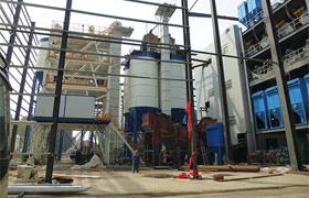 年500万吨建筑废弃物处理加工现场