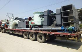 内蒙鄂尔多斯大型5R4119雷蒙磨粉机生产线设备发货