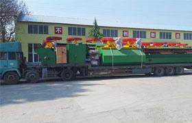 郑州中厚机械云南新型浮选机发货