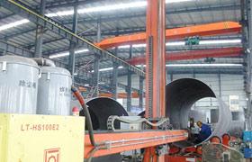 郑州中厚机械车间加工能力