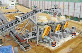 广西锰矿石圆锥破碎机生产线