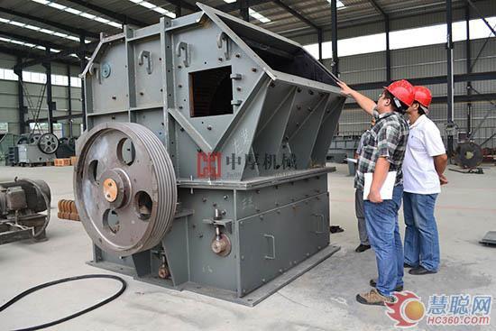 郑州鼎盛高品质高效细碎机领跑水泥熟料市场