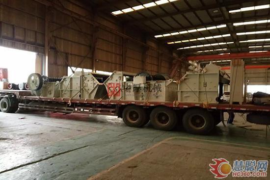 郑州鼎盛单段细碎机被广泛使用各行业