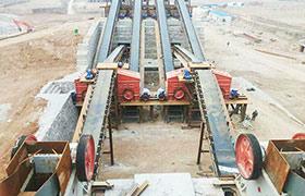 时产500吨石料生产线现场案例
