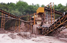 干式制砂生产线现场